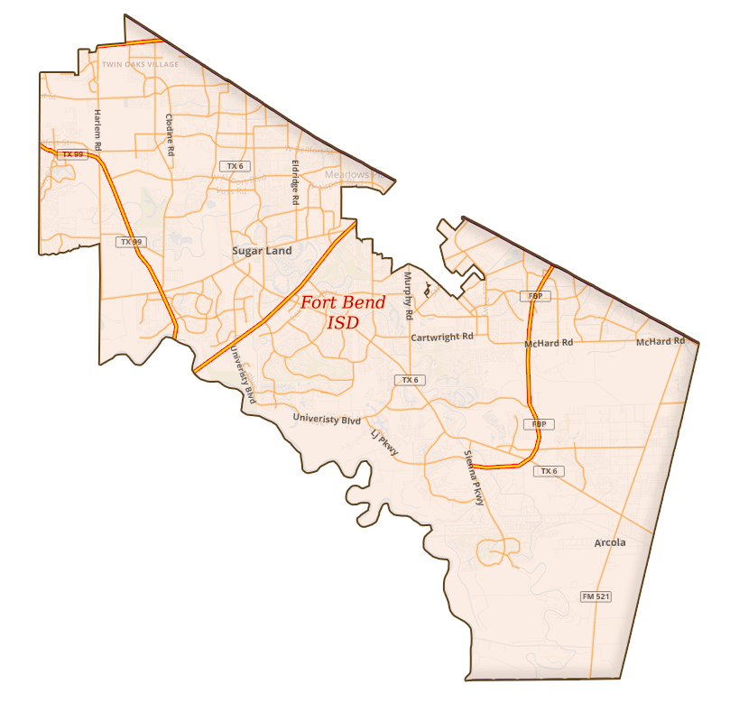 Fort Bend ISD - Counties